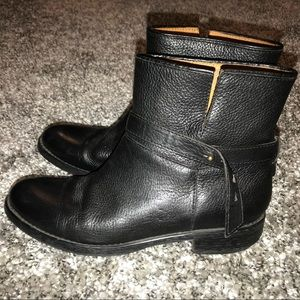 Madewell The Biker Boot 8.5 Black Ankle 03827